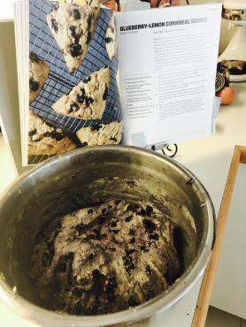 scones-with-recipe-book