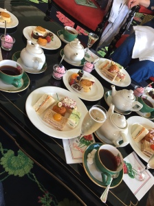 High Tea at the Grand Hotel - just some of the food I ate